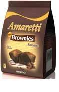 AMARETTI mini BROWNIES