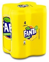 Fanta ΛΕΜΟΝΙΤΑ 4x330ml