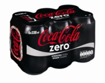 COCA COLA ZERO 6x330ml
