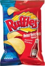 RUFFLES CHIPS 130g