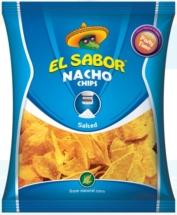 El Sabor NACHO CHIPS 225g 0.450 Kg