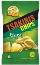 TSAKIRIS CHIPS 140g
