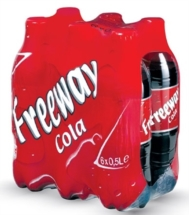 FREEWAY COLA 6x500ml