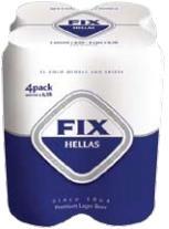 FIX HELLAS ΚΟΥΤΙ 4x500ml