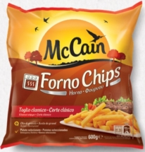 Mc CAIN FORNO CHIPS 600g