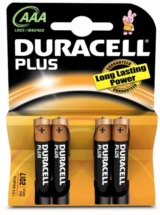 DURACELL ΜΠΑΤΑΡΙΕΣ