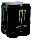 MONSTER ENERGY 4x500ml