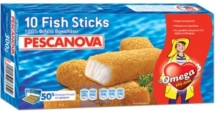 PESCANOVA FISH STICKS 0.300 Kg