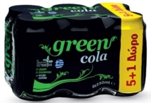 GREEN COLA ΚΟΥΤΙ 6x330ml