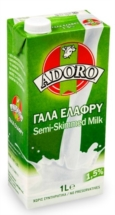 ADORO ΓΑΛΑ ΕΛΑΦΡΥ 1Lt