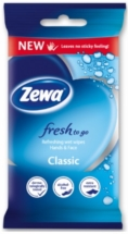 ZEWA FRESH TO GO 10 ΤΕΜ.