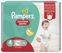 PAMPERS PANTS 30 ΤΕΜ.