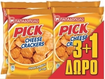 PICK MINI CRACKERS 4x45g