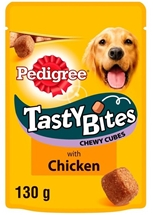 PEDIGREE TASTY BITES 130g
