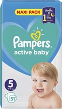 PAMPERS ACTIVE BABY