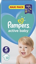 PAMPERS ACTIVE BABY 51.000 Τεμ