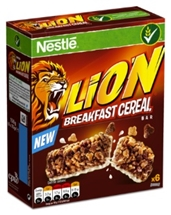 NESTLE LION BARS 6x25g