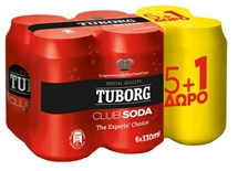 TUBORG SODA 6x330ml