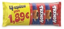 TRENDY ΚΡΟΥΑΣΑΝ 4x70g