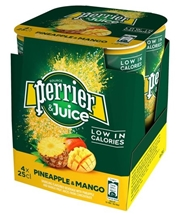 PERRIER & JUICE 4x250ml