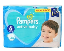 PAMPERS ACTIVE BABY 44.000 Τεμ