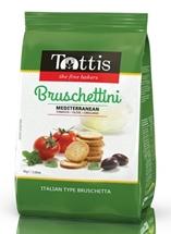 TOTTIS BRUSCHETTINI 80g