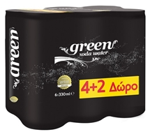 GREEN ΣΟΔΑ 6x330ml