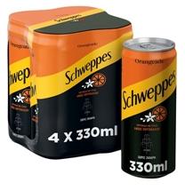SCHWEPPES 4x330ml