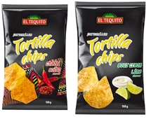 EL TEQUITO CHIPS 150g