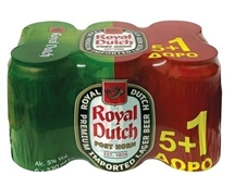 ROYAL DUTCH ΚΟΥΤΙ 6x330ml