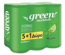 GREEN MOCKTAILS 6x330ml