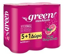 GREEN MOCKTAILS 6x330ml
