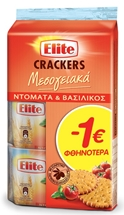 ELITE CRACKERS 3x105g