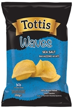 TOTTIS WAVES CHIPS 250g