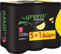 GREEN ΛΕΜΟΝΑΔΑ 6x330ml