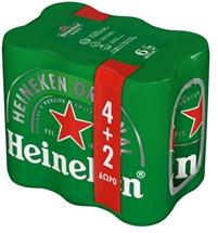 HEINEKEN ΚΟΥΤΙ 6x330ml