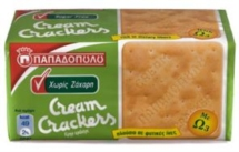 CREAM CRACKERS 165g
