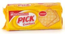 PICK CRACKERS 100g