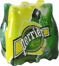 PERRIER LEMON 6x500ml